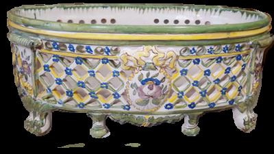 jardinière céramique restaurée